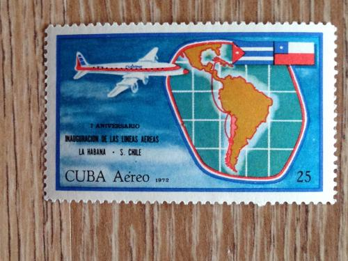 Марка Куба самолет