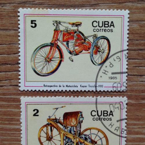 Марки Куба, мотоциклы