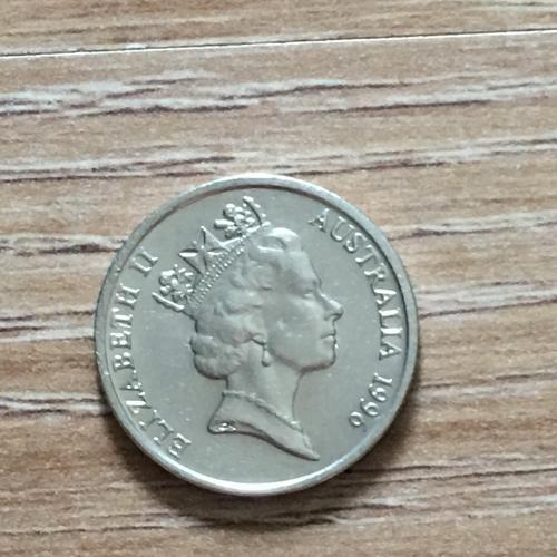 Монета 5 центов Австралия 1996