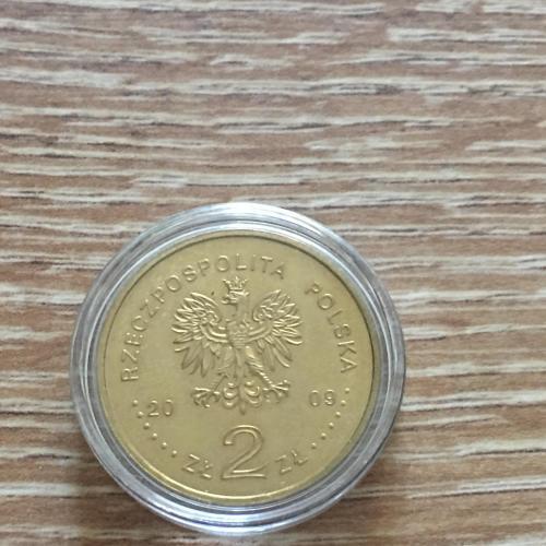 Монета  Польша 2 злотых 2009 г