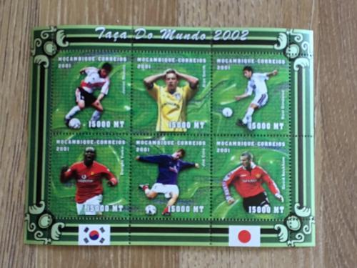Мозамбик 2001 Футбол ЧМ Чемпионат мира Япония-Южная Корея-2002