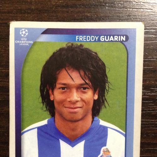 Наклейка. Freddy Guarin. Champions League 2008-2009. PANINI.