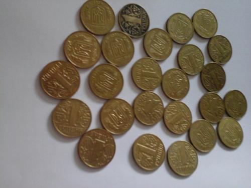 1 гривна 2001 года 25 штук