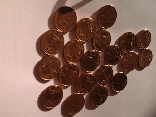 1 гривна Володимир. Великий 2006 года 20 штук