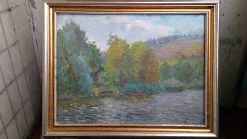 Пейзаж .Кулагина А.