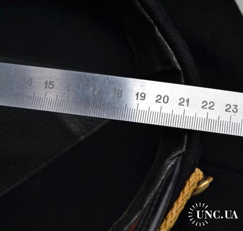 Фуражка морская с кокардой. Размер большой (замеры на фото)