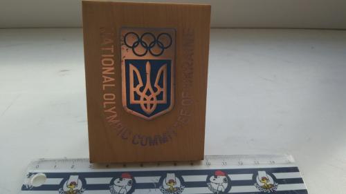 Плакетка, Национальный олимпийский комитет Украины