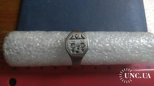 Перстень, 17 век , серебро , отличное состояние