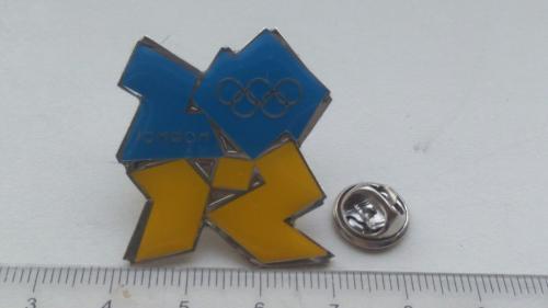 Знак сборной Украины, Лондон