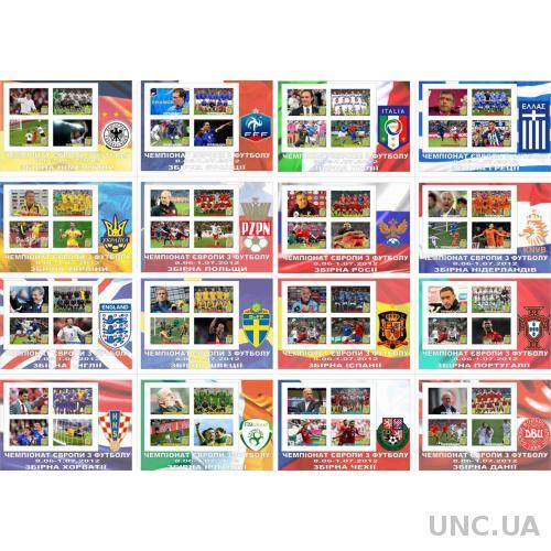 Чемпионат по футболу Евро-12 .Клубный выпуск .