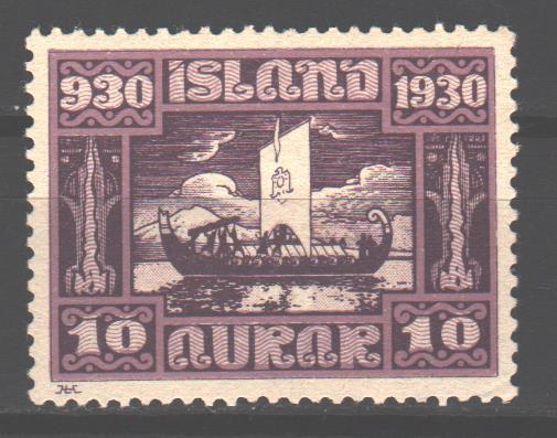 Продам марку Исландии