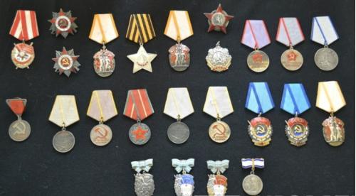 Коллекция фалеристики СССР