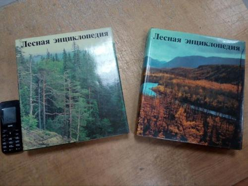 Лесная энциклопедия в 2 томах