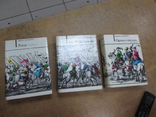 Sienkiewicz H. Potop + Ogniem i mieczem (комплект из 3 книг)