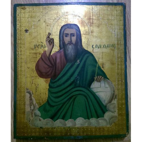 Икона Святой Саваша, размер 35х30х3см