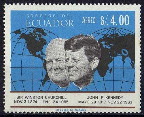 Эквадор Космос Ракеты Спутники Планеты Космонавты Кометы Черчилль Кеннеди Редкая
