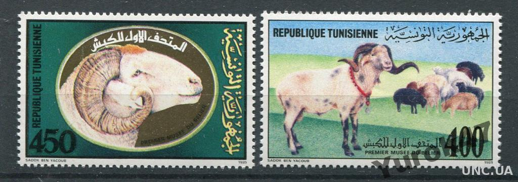 Фауна Баран Тунис MNН