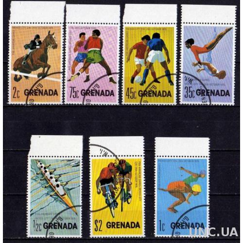 Гренада Спорт Футбол Соревнования Олимпиада Полная Серия