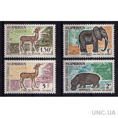 Камерун Фауна Животные Звери Африка Серия Чистая Редкая