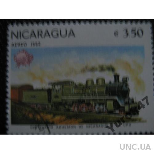 Никарагуа Транспорт Поезда Локомотивы Редкая