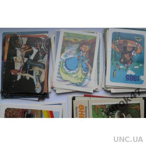 СССР Украина 120 календариков Старые Редкие