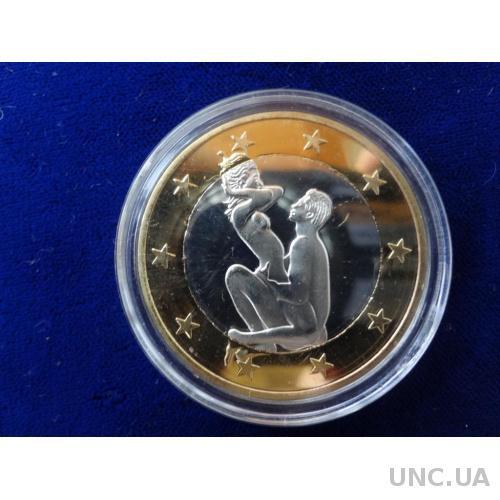 6 Euros  6 эрос Монета-жетон