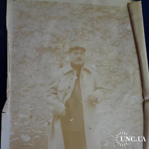 Франция фото  Первая мировая война. Офицер с сигаретой