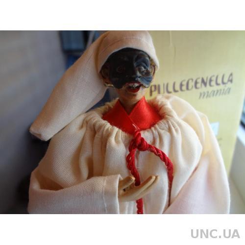 Италия Комедия масок, кукла Пульчинелла - младший глупый слуга