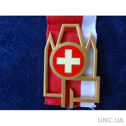 Швейцария стрелковая медаль 1969  кантон Тун  позолота
