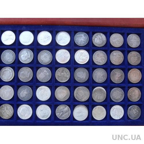 США юбилейные 50 центов полдоллара 1915-1952 50 шт. серебро копии - полный набор