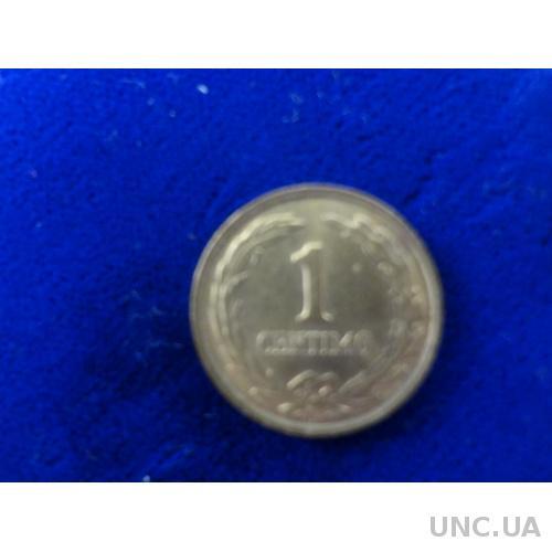 Уругвай 1 сентимо 1950   АНЦ