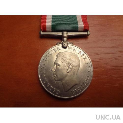 Великобритания Медаль защитнику Отечества за II мировую войну