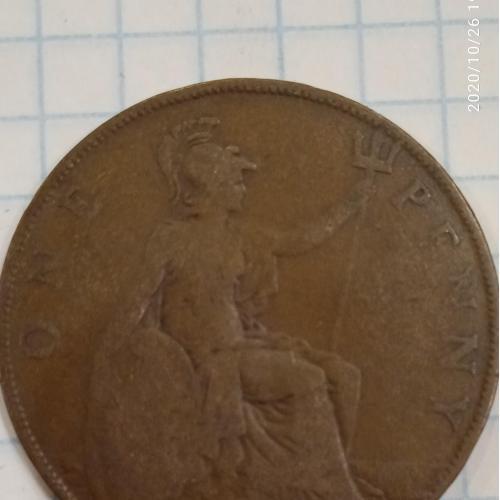1 пенни, 1914