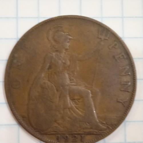 1 пенни, 1921