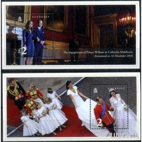 Гернси 2011 Личности, Персоналии, Монархи, Королевская Семья, Принц Уильям, Свадьба, Помолвка