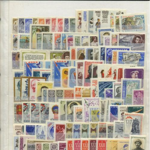 Распродажа СССР 1961-1991 Коллекция MNH см. описание