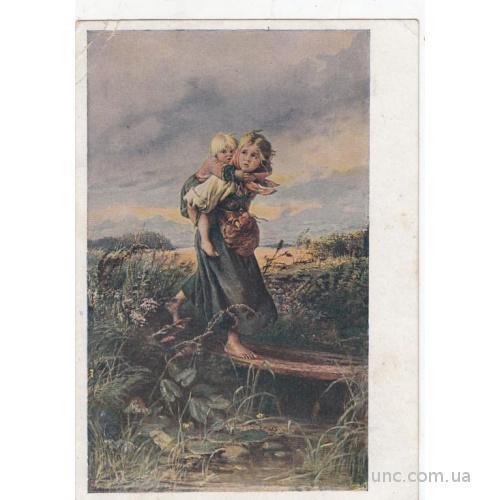 К.МАКОВСКИЙ Дети, бегущие от грозы