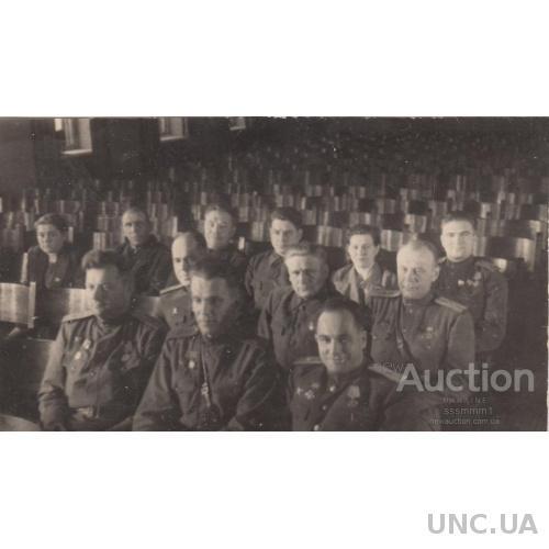 Фото. 6 сессия Верховного совета УССР. Киев, 1944 г.