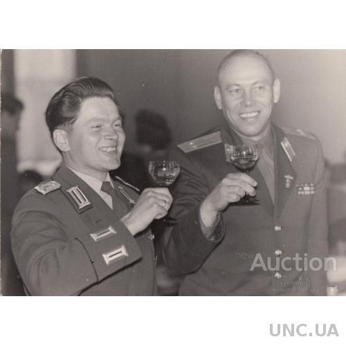 Фото. Банкет с немецкими товарищами.