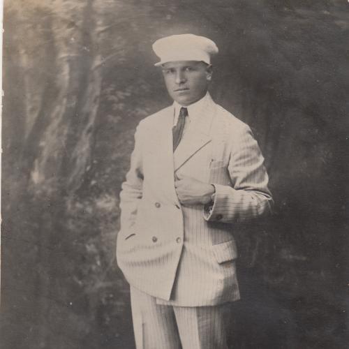 Фото. Молодой человек. 1930-е гг.