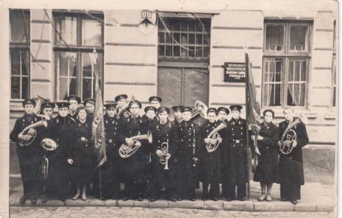 Фото. Оркестр ремесленного училища.