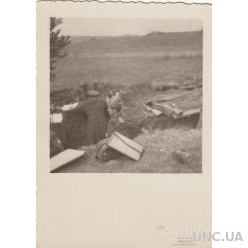 Фото периода войны. НП на переднем крае.