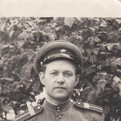 Фото. Старшина спецслужбы МВД. 1940-50 гг.