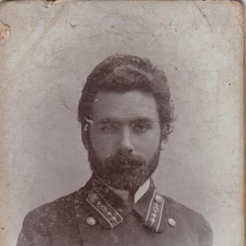 Коллежский секретарь из Николаева. Визит-портрет.