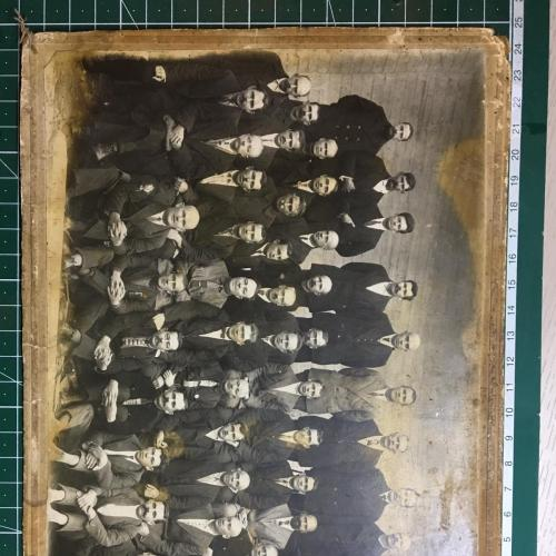 Колективное фото 1920-30 годов Состояние как на фото