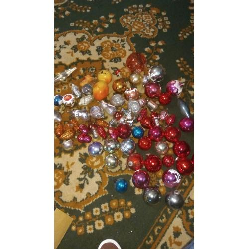Новогодние игрушки СССР