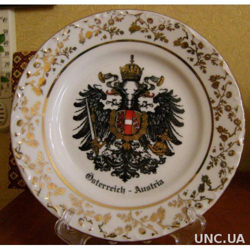 Тарелка настенная -Австрия