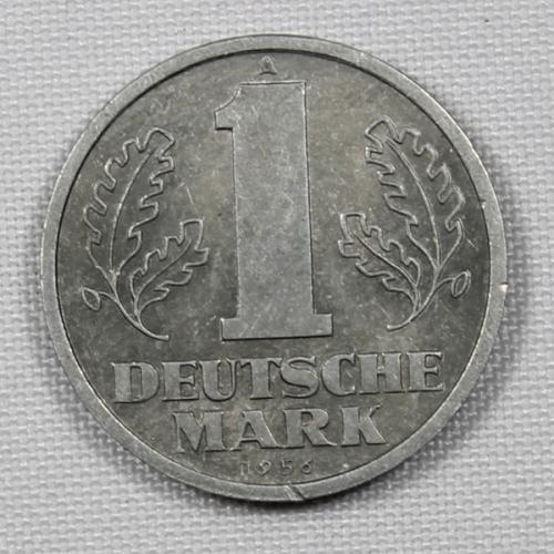 1 марка (A) 1956 г. ГДР