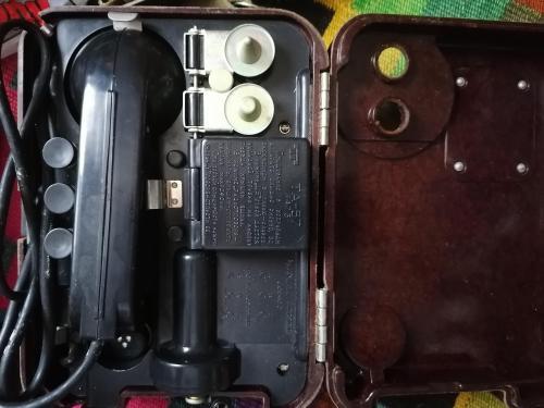 Армейские полевые телефоны
