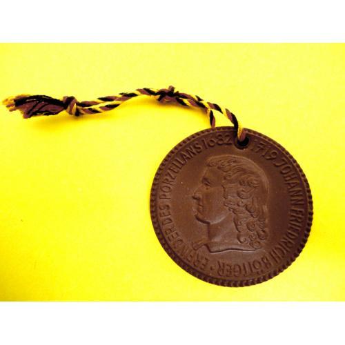 Памятная медаль Германия Фарфор Мейссен 1982